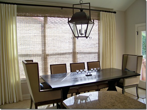 interior design austin, dining table, dining chairs, lighting