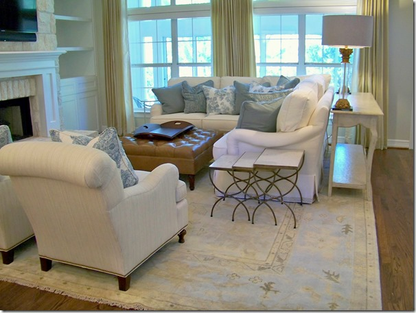 Living room from entry by heather scott home and design