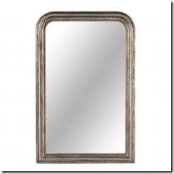 louis phillipe style mirror