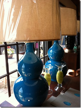 vases as lamps