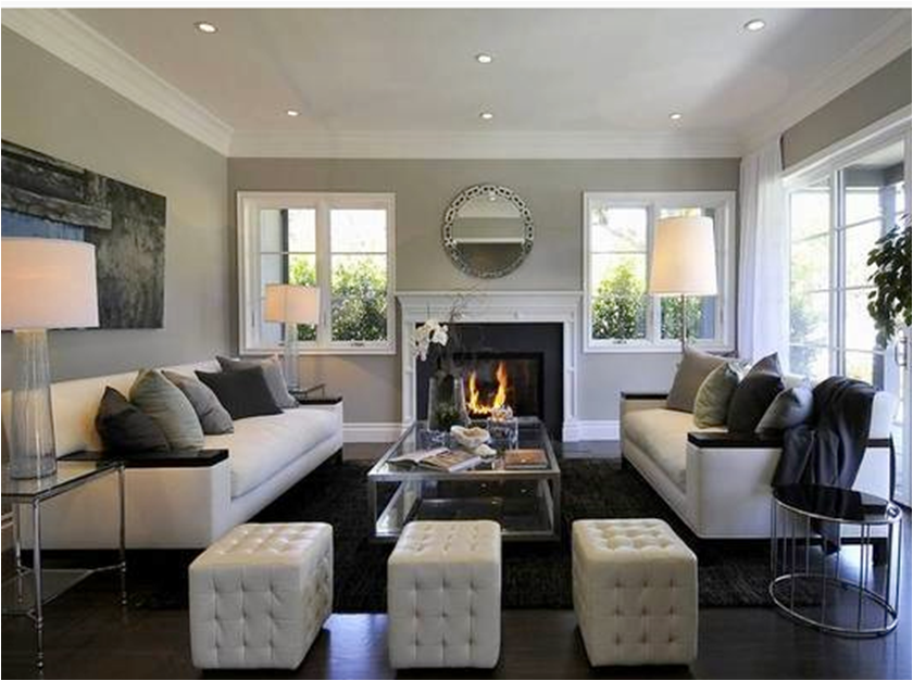 Formal living room contemporary style home living - Contemporary living room decorating ideas to put your heart and soul in it ...