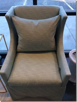 diamond printed chair