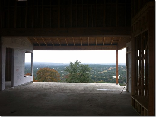 view from family room